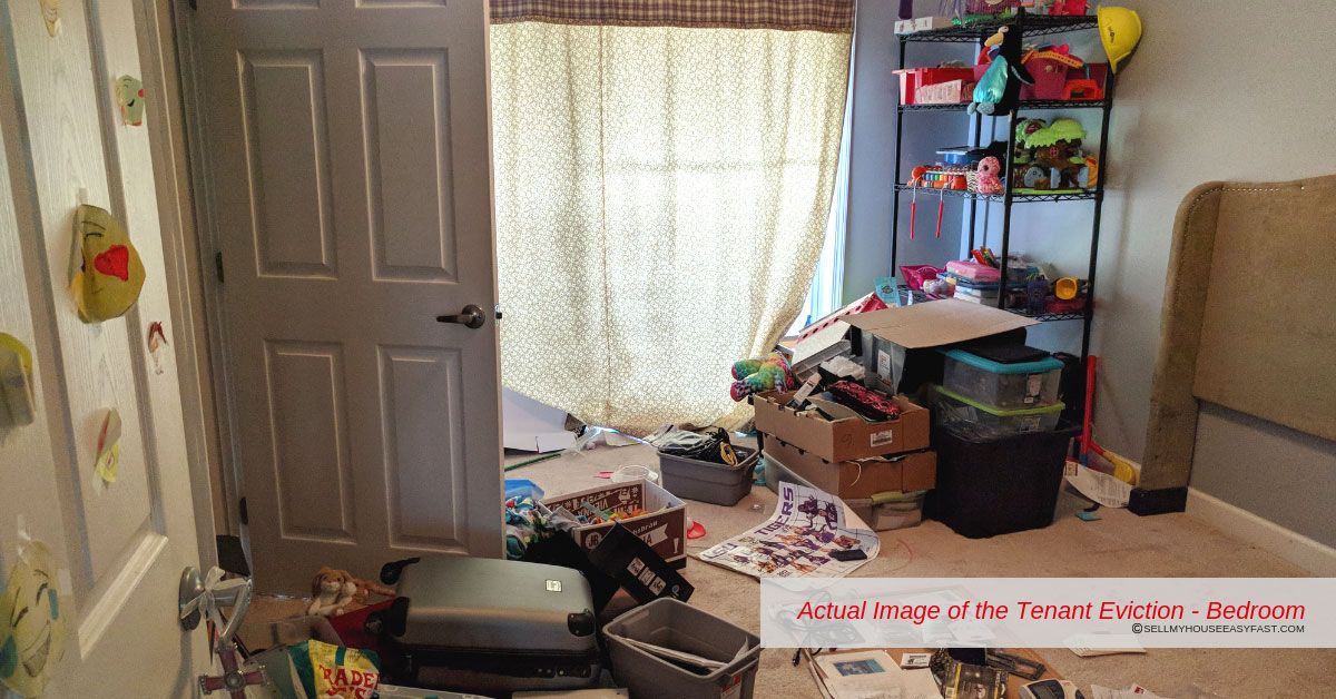 Evicting a tenant - Bedroom