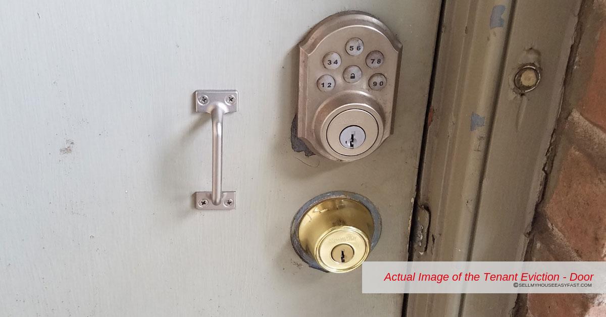 Front Door Handles Replaced By Tenant
