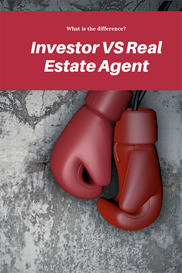 investor vs real estate agent